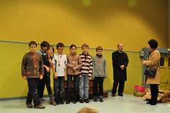 Podium championnat scolaire 2012