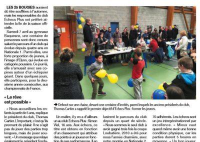 Echecs Plus Cherbourg fête ses 25 ans