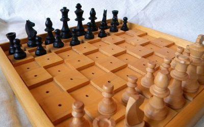 Découverte du jeu d'échecs pour personnes déficientes visuelles