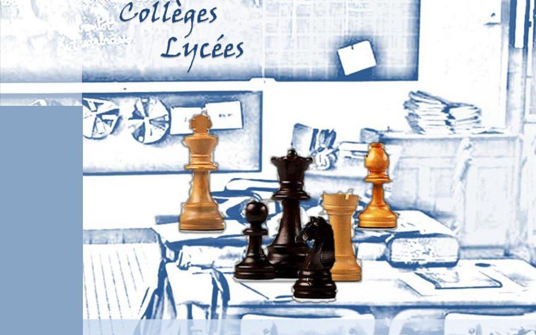 Championnat d'échecs scolaire